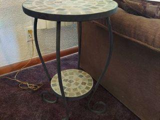 Metal leg Tile Top Table