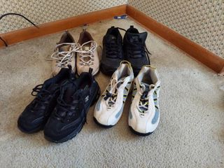 4 Pairs of Shoes   Size 7 5
