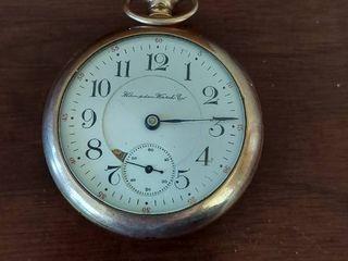 Hampton Watch Co Pocket Watch