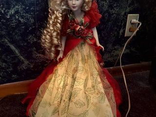 Doll with lighted Base