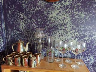 Beverage Sets and lamp