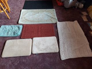 Small Rugs and Foam Mats