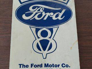Ford V8 Tin Sign