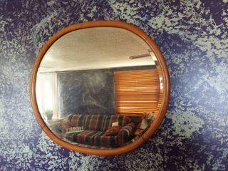 Beveled Edge Mirror in Frame