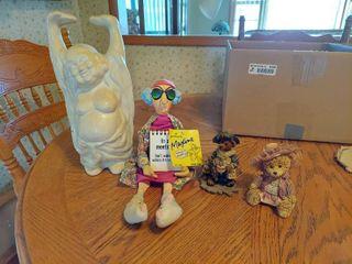 Buddha  Maxine and Boyd s Bear