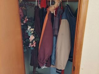 All Remaining in Front Closet