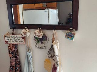 Mirror with Hanging Decor