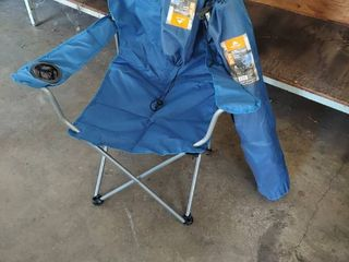 2  Ozark Trail Deluxe Folding Camping Arm Chair