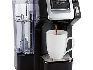 Hamilton Beach   FlexBrew Single Serve Coffee Maker   Black