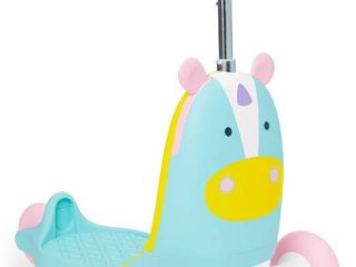 Skip Hop Kids  3 in 1 Ride On Scooter and Wagon Toy   Unicorn