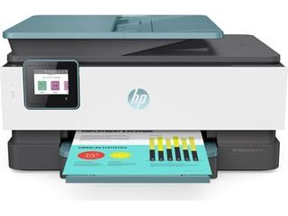 HP   OfficeJet Pro 8035 Wireless All In One Instant Ink Ready Inkjet Printer   Oasis White Gray