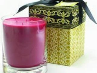 tyler candle with gift box 40 oz  diva black