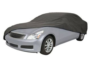 Classic Accessories Over Drive Poly Pro III Heavy Duty Full Size Sedan Car Cover