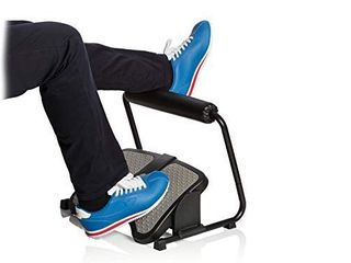 Footrest for standing and sitting