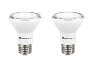 EcoSmart 50 Watt Equivalent PAR20 Dimmable Energy Star lED light Bulb Daylight  2 Pack