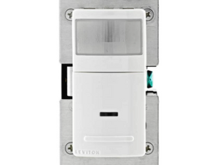 lEVITON SINGlE POlE WIDE VIEW MOTION ACTIVATED lIGHT CONTROl IPS02 120VAC 60HZ