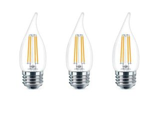 Philips BA11 Medium Dimmable lED Decorative light Bulb