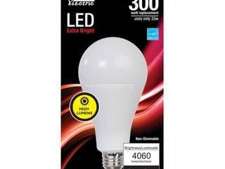 Feit Electric A21 E26  Medium  lED Bulb Warm White 300 Watt Equivalence 1 pk