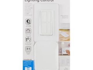 GE Wireless Remote with lamp Dimmer lighting Control  White