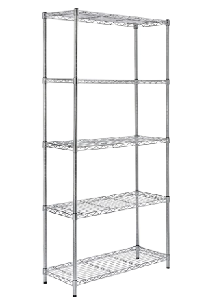 HDX 5 Shelf Storage Unit 36 in W x 16 In l X 72 In H