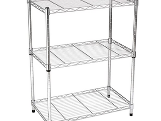 3 Tier Storage Shelf Chrome