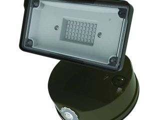 Halo TGS 3000 lumens Bronze Square Single Head Outdoor Integrated lED Flood light