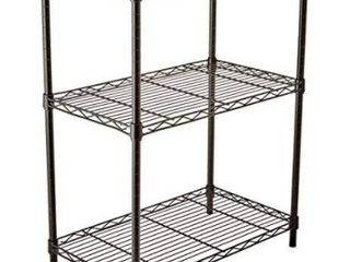 Hdx 3 Shelf Storage Unit Black