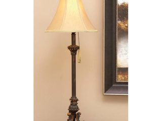 Deco 79 Polystone Metal Buffet lamp  31 Inch  Bronze