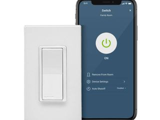 leviton Decora Smart 15 Amp Wi Fi Smart Rocker light Switch with Alexa  Google and HomeKit 2nd Gen  White