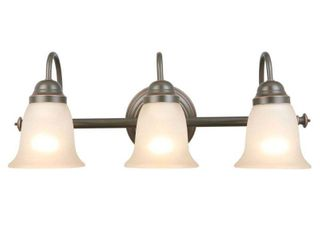 Hampton Bay Springston 3 light Oil Rubbed Bronze Vanity light