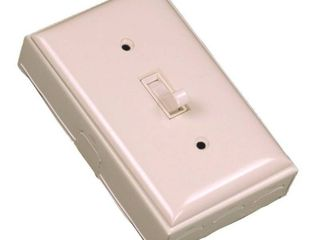 Wiremold Company B2S Metallic 1 Pole Switch Kit  Ivory