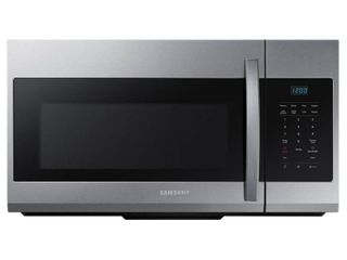 Samsung   1 7 Cu  Ft  Over the Range Microwave   Stainless steel