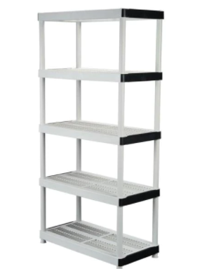 5 STACKABlE SHElVES WHITE