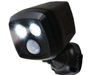 500 lumens Cordless Motion Activated Sensor lED Spotlight Multi location