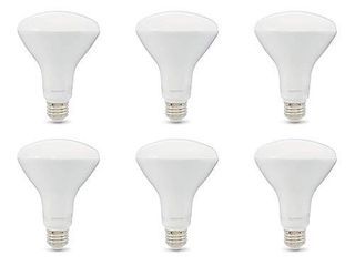 65W Equivalent  Daylight  Dimmable  10 000 Hour lifetime  BR30 lED light Bulb   6 Pack