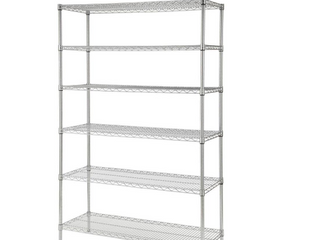 Hdx 6 Shelf Storage Unit 48in W x 18 in l x 72 in H