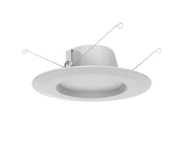Commercial Electric 5 6in  White Recessed lED Trim