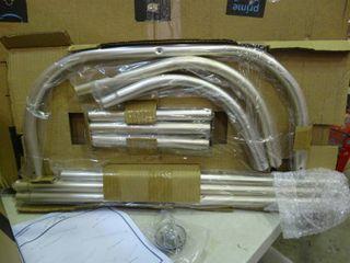 Surround shower curtain rod system