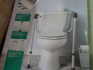 Foldable Toilet Safety Rail