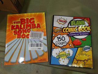 lot of 2 New Books   Comic Creation   Music Books