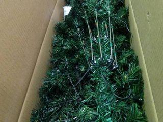7ft Pre lit Artificial Christmas Tree