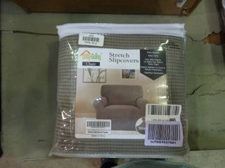 Grey Furniture Slip Cover for Arm Chair