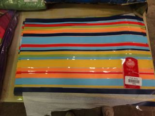 lot of Colorful Placemats