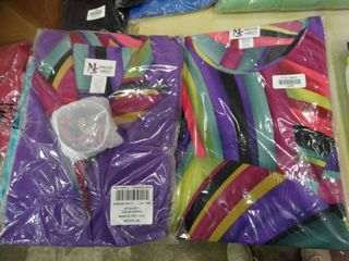 Maggie Sweet Petite 3X Colorful Shirt with Matching Jacket