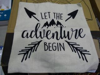 let the Adventure Begin  Pillow Case