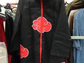 Clothing lot   Childs Kimono Robe and ladies Black Stretch Pants