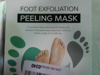 Foot Exfoliation Peeling Masks   Box of 2