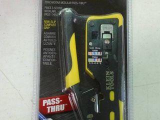 Pass Thru Modular Crimper by Klein Tools