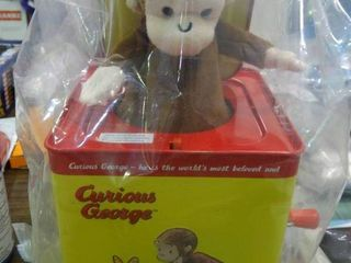Curious George Jack n the Box Toy