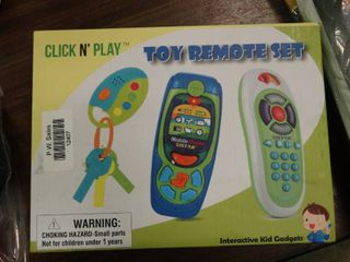Toy Remote Set for Babies   Kids